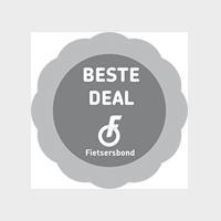 Logo Fietsersbond Beste Deal grey