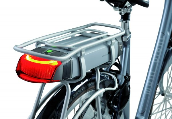 Koga V-light integrated e-bike light with laser technology
