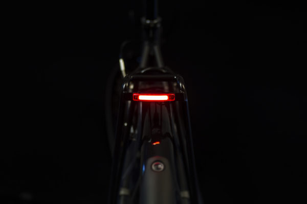 Pimento Xe Brake on bicycle on without brake-light