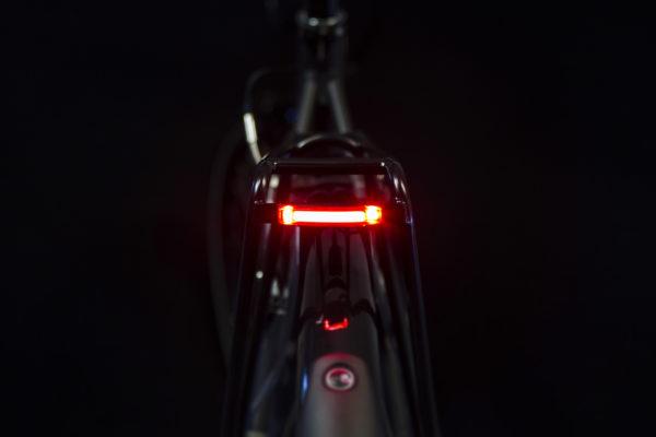 Pimento Xe Brake on bicycle on with brake-light