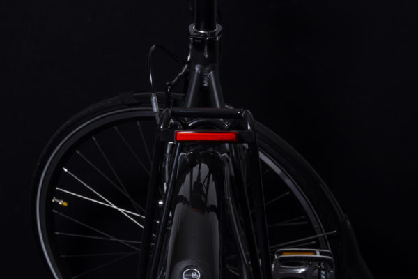 Pimento rearlight for e-bike on carrier with light off