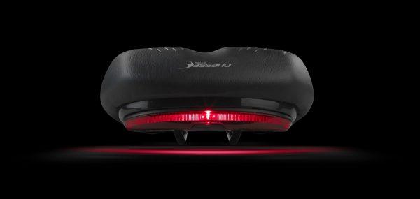 Selle Bassano integrated saddle light