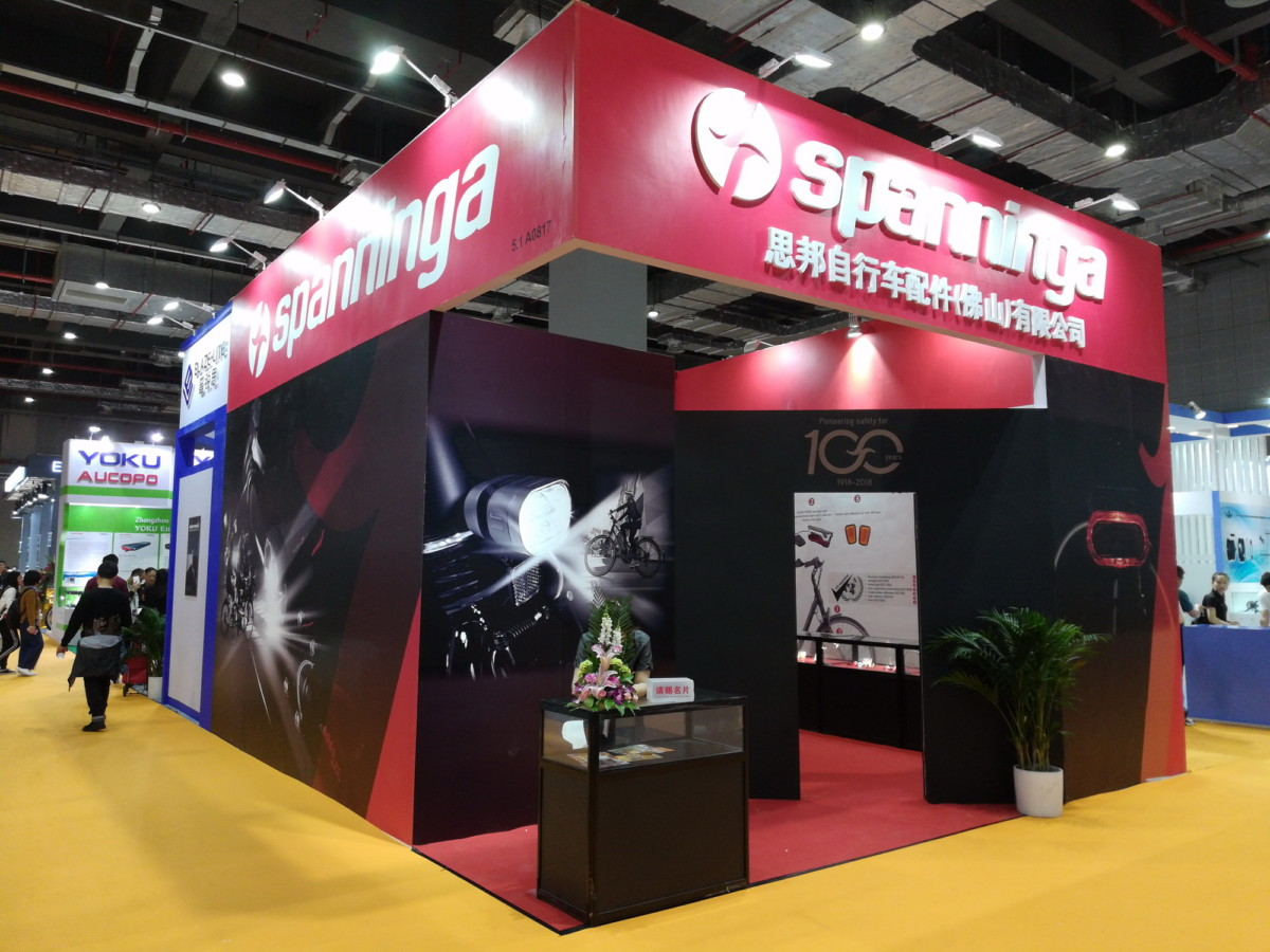 Spanninga Fahrradbeleuchtung China Cycle 2019 Non classé