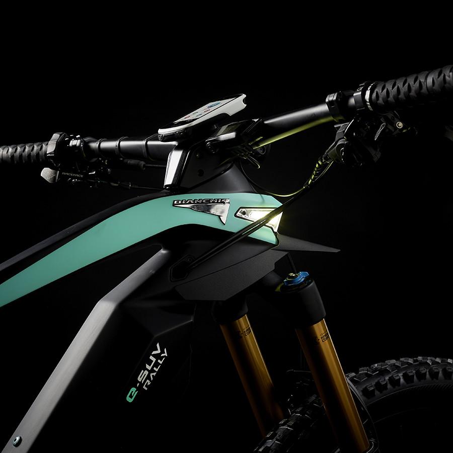 Spanninga Fahrradbeleuchtung Spanninga x Bianchi: wenn sich Design, Integration und Funktion vereinen Non classé