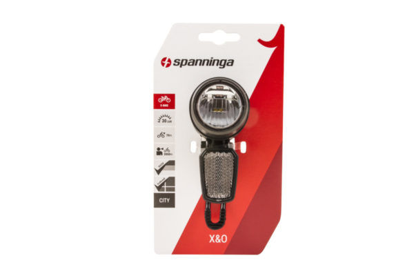 X&O 30 headlamp on package
