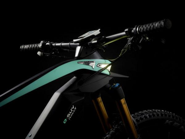 Bianchi eSuv integrated headlamp