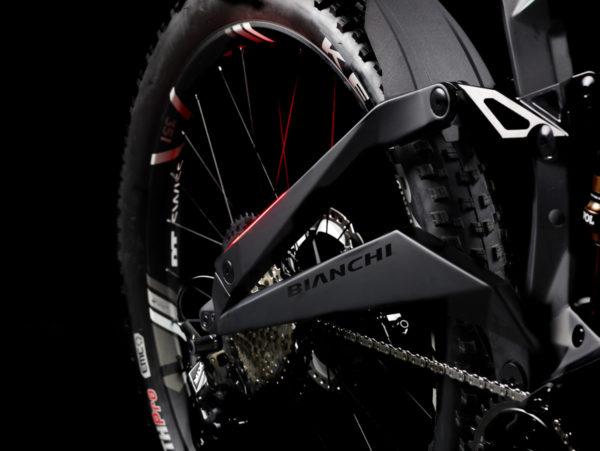 Bianchi eSuv integrated rearlight