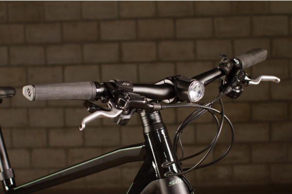 Scott integrated headlamp