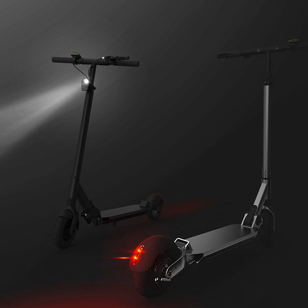 Hulong e-scooter headlamp + rearlight