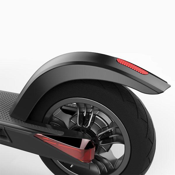 Okai e-scooter integrated rearlight