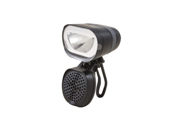 Axendo 100 Speed headlamp with BH190 bracket and Decibel horn