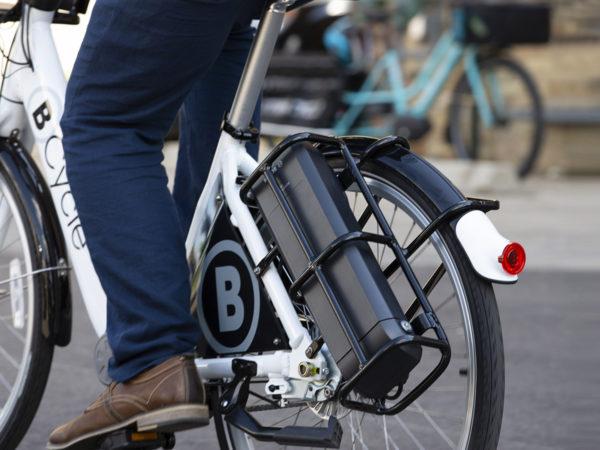 Trek Bcycle integrated e-bike rearlight