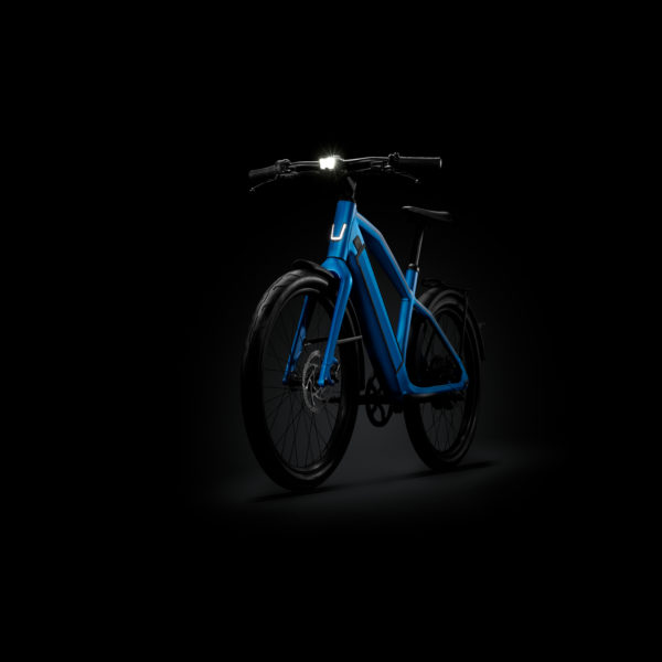 Stromer integrated headlamp side view