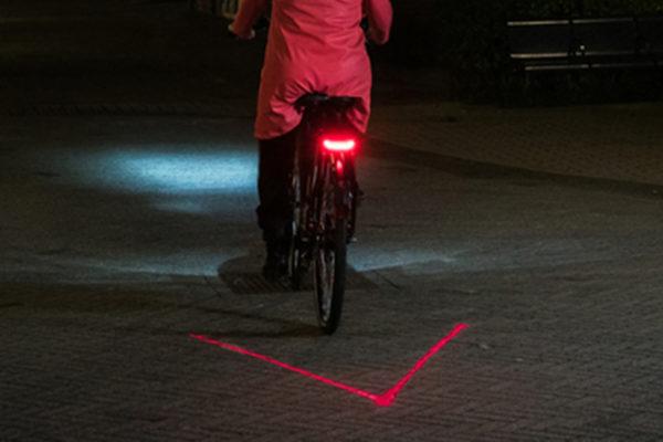 Batavus V-light rearlight with laser