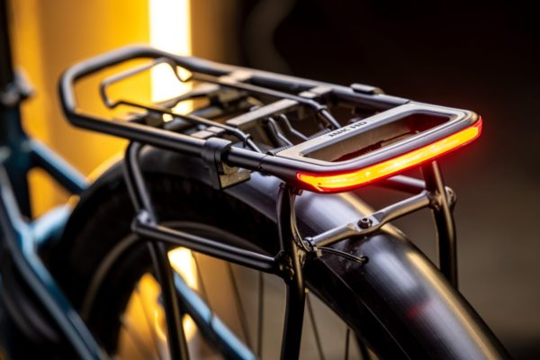 Merida MIK HD carrier with integrated Spanninga Glow rearlight