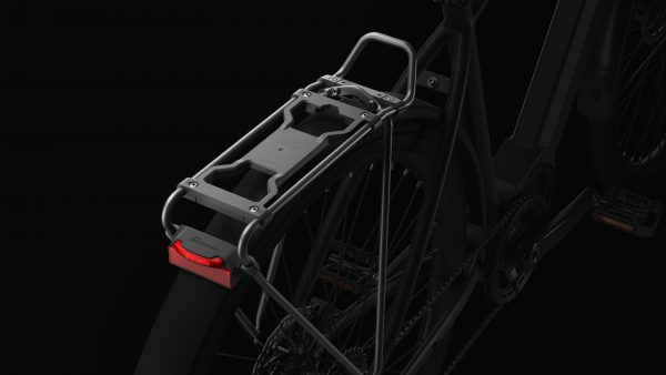 SKS Germany Infinity carrier with Spanninga rearlight top view